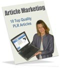 Article Marketing PLR articles for you