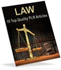 Law PLR articles for you