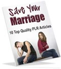 Save Marriage PLR articles for you