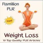 Download 12 Free Weightloss Articles With PLR