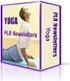 yoga PLR newsletters